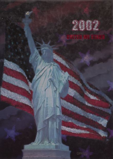 2002 Taylor County High School Yearbook Cover