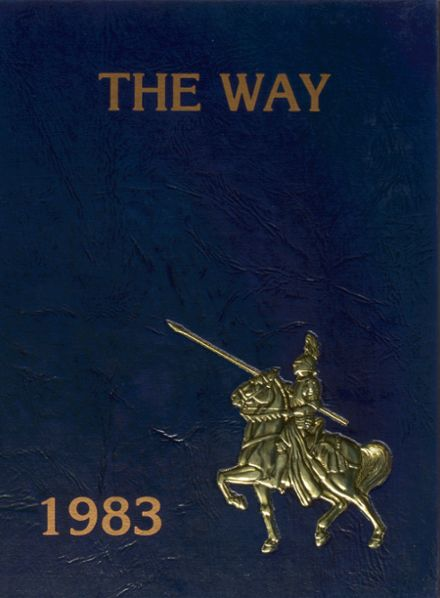 1983 Archbishop Hoban High School Yearbook Cover