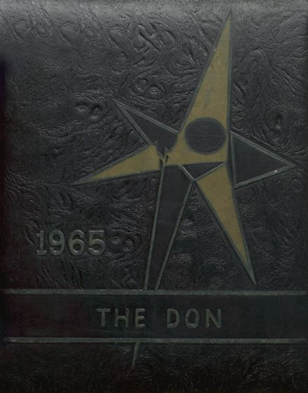 1965 Doniphan High School Yearbook Cover
