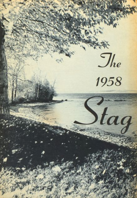 1958 St. Agatha High School Yearbook Cover