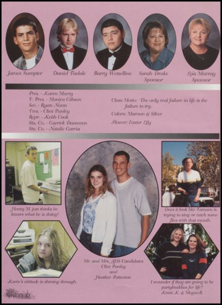 2000 Apache High School Yearbook Page 8