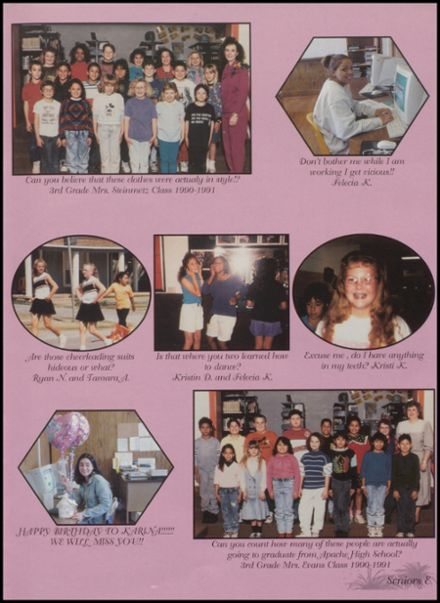 2000 Apache High School Yearbook Page 9