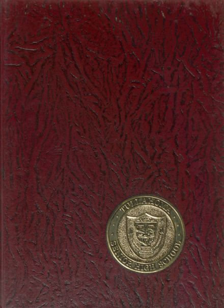 1970 Tullahoma High School Yearbook Cover