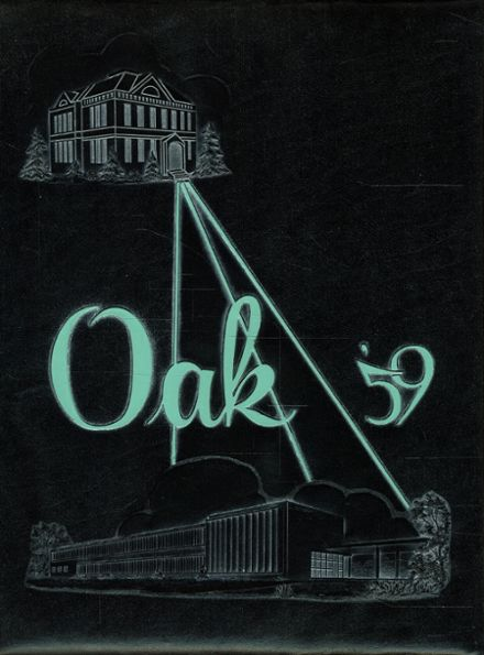 1959 Mt. Whitney High School Yearbook Cover