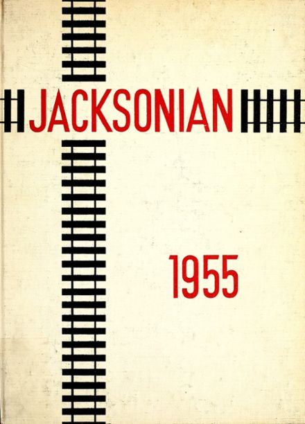 1955 Jackson Central High School Yearbook Cover