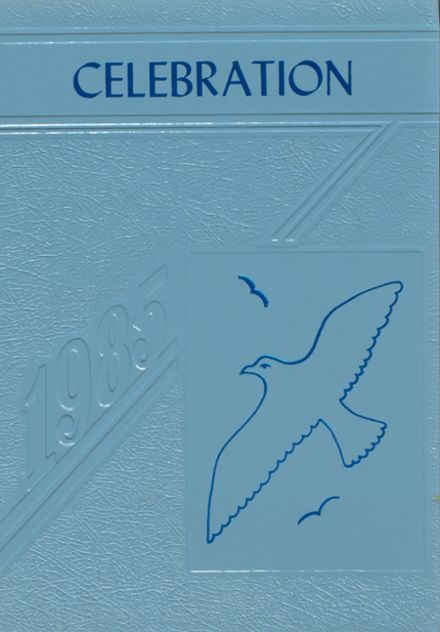 1985 Seton Academy Yearbook Cover
