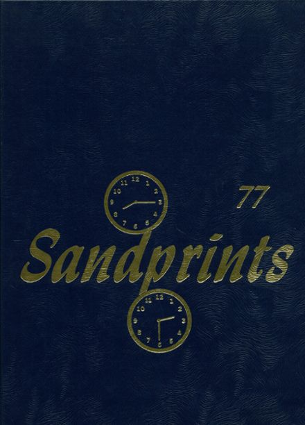 1977 Sanford Central High School Yearbook Cover