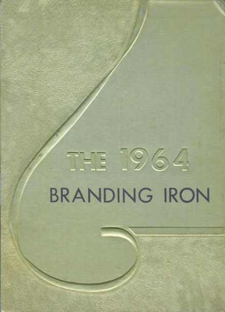1964 Mason High School Yearbook Cover