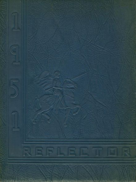1951 Thomas Dale High School Yearbook Cover
