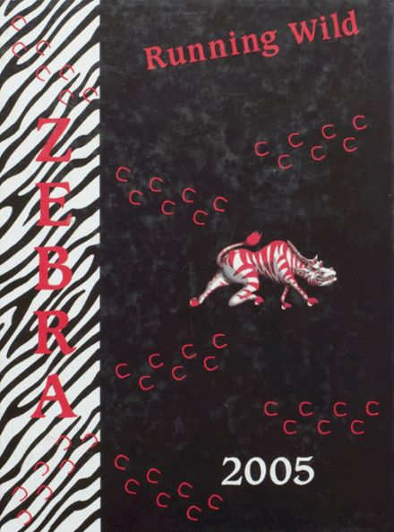 2005 Pine Bluff High School Yearbook Cover
