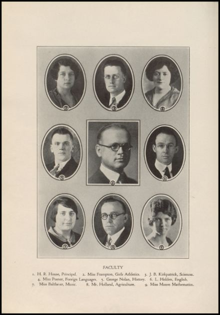 1927 Port Allegany High School Yearbook Page 8