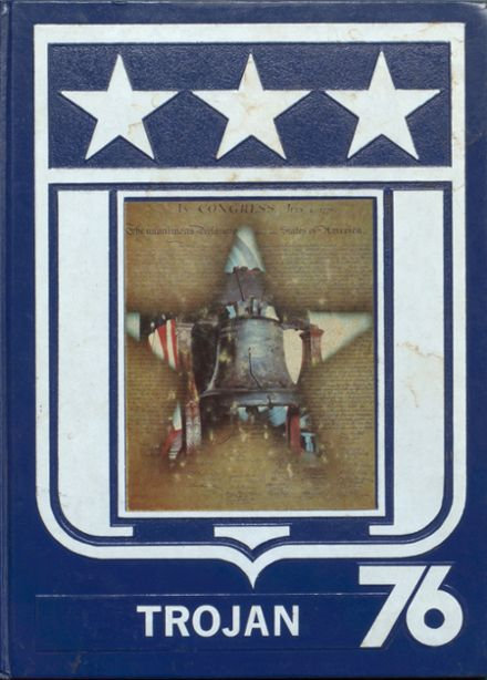 1976 Madison High School Yearbook Cover