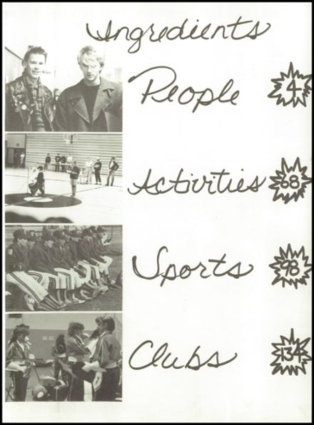 1988 River Falls High School Yearbook Page 3