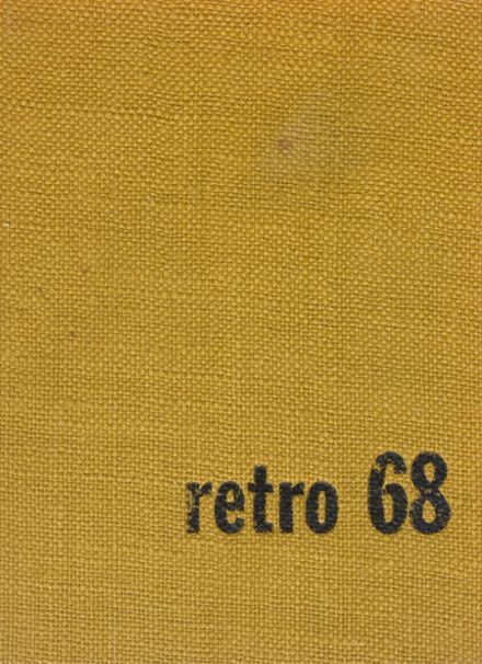 1968 Hartford City High School Yearbook Cover