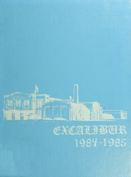 1985 Canterbury School Yearbook Cover