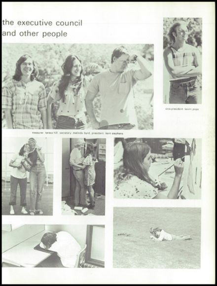 1974 Niwot High School Yearbook Page 9