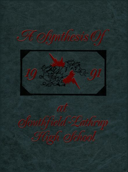 1991 Southfield-Lathrup High School Yearbook Cover