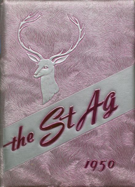 1950 St. Agnes Academy Yearbook Cover