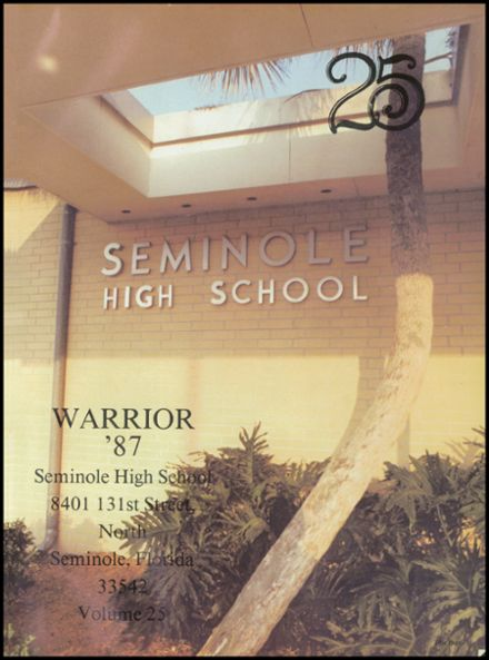 1987 Seminole High School (Pinellas County) Yearbook Page 5