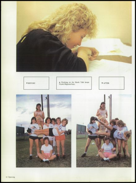 1987 Seminole High School (Pinellas County) Yearbook Page 8