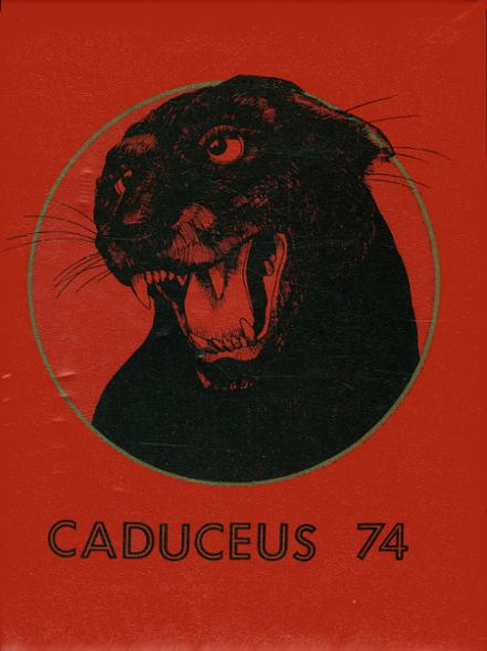 1974 Chico High School Yearbook Cover