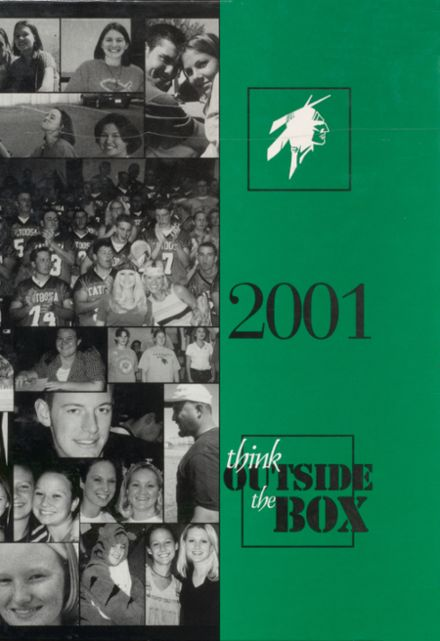 2001 Catoosa High School Yearbook Cover