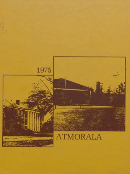 1975 Escambia County High School Yearbook Cover
