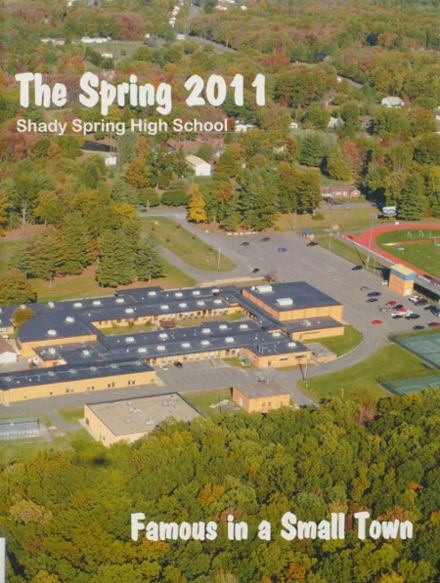 2011 Shady Spring High School Yearbook Cover