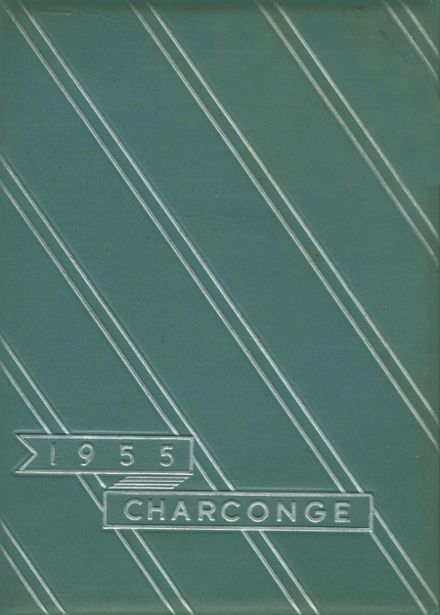 1955 Chartiers-Houston Junior-Senior High School Yearbook Cover