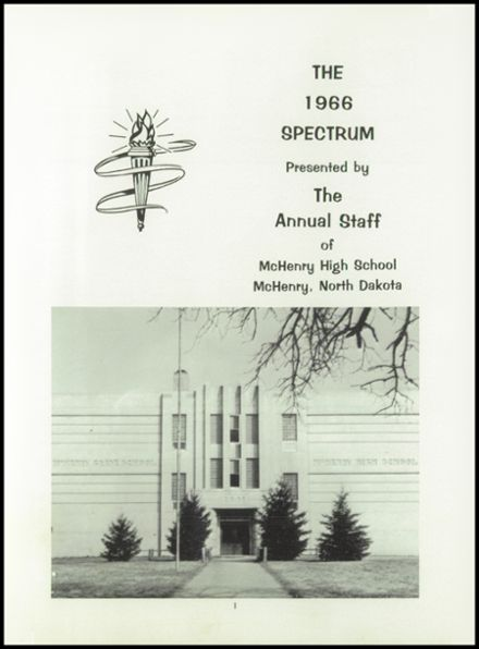 1966 McHenry High School Yearbook Page 5