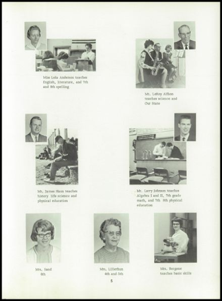 1966 McHenry High School Yearbook Page 9