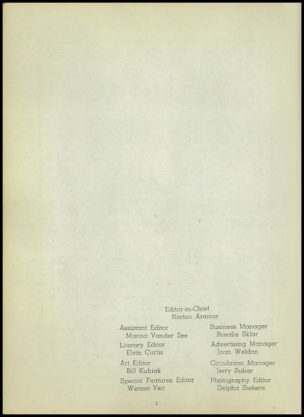 1947 Central High School Yearbook Page 6