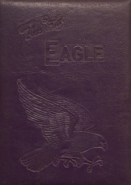 1956 Campbellsville High School Yearbook Cover