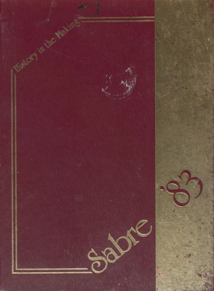 1983 Stonewall Jackson High School Yearbook Cover