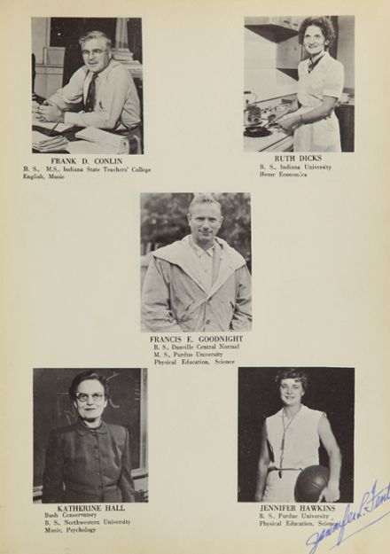 1955 Covington High School Yearbook Page 7