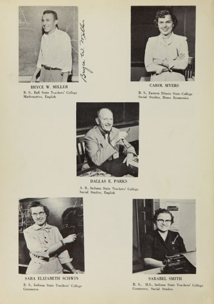 1955 Covington High School Yearbook Page 8
