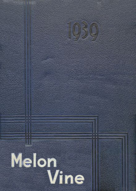 1939 Weatherford High School Yearbook Cover