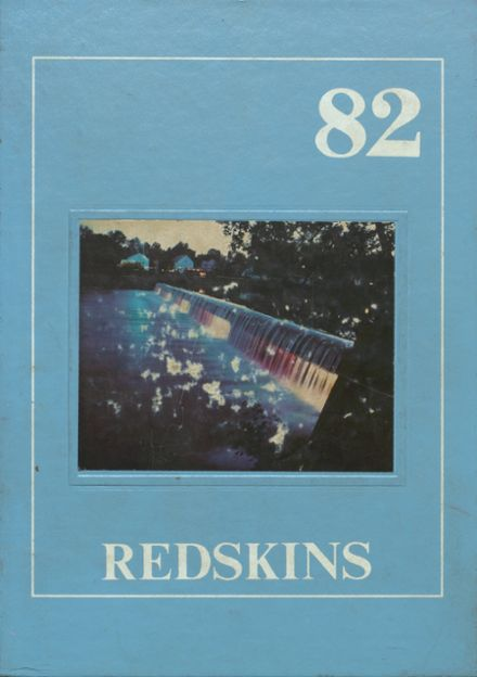 1982 Alden High School Yearbook Cover