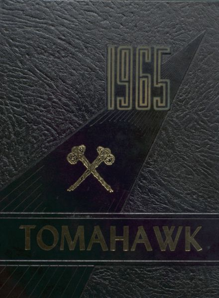 1965 Caldwell High School Yearbook Cover