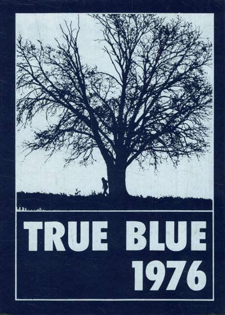 1976 Hudson High School Yearbook Cover