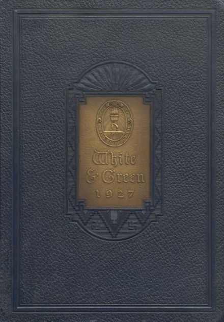 1927 Provo High School Yearbook Cover