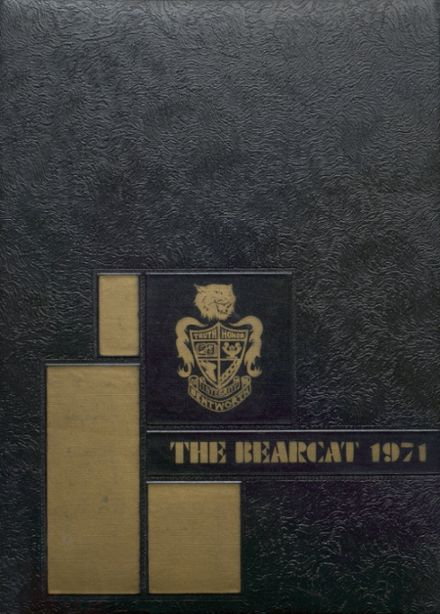 1971 Bentworth High School Yearbook Cover