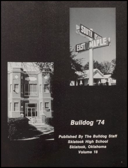 1974 Skiatook High School Yearbook Page 5