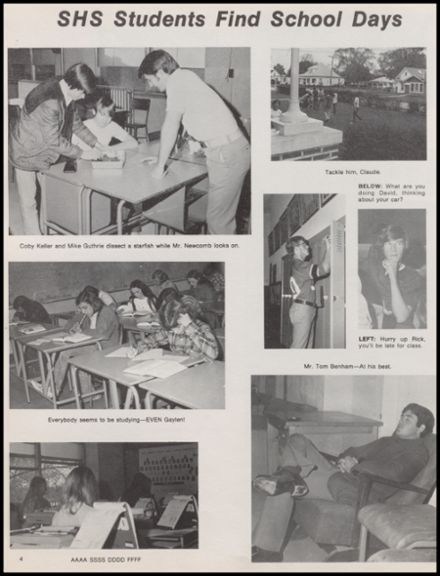 1974 Skiatook High School Yearbook Page 8