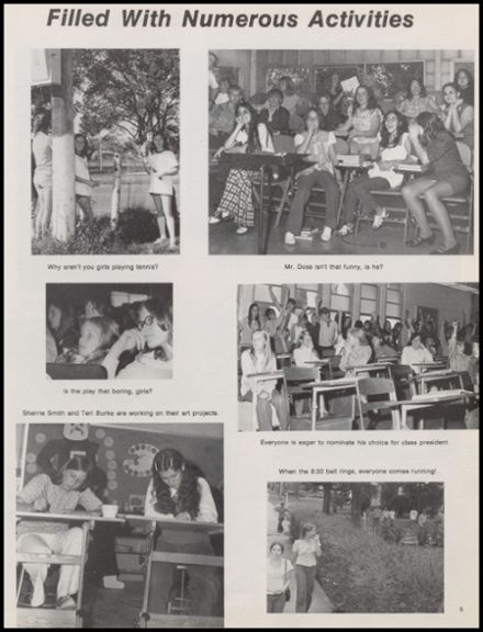 1974 Skiatook High School Yearbook Page 9