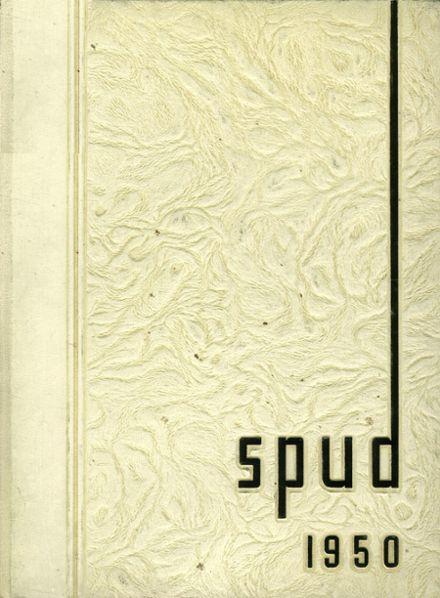 1950 Idaho Falls High School Yearbook Cover