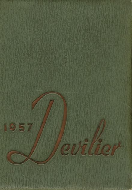 1957 Liberty High School Yearbook Cover