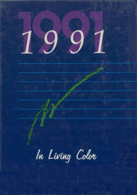 1991 Salina High School Yearbook Cover