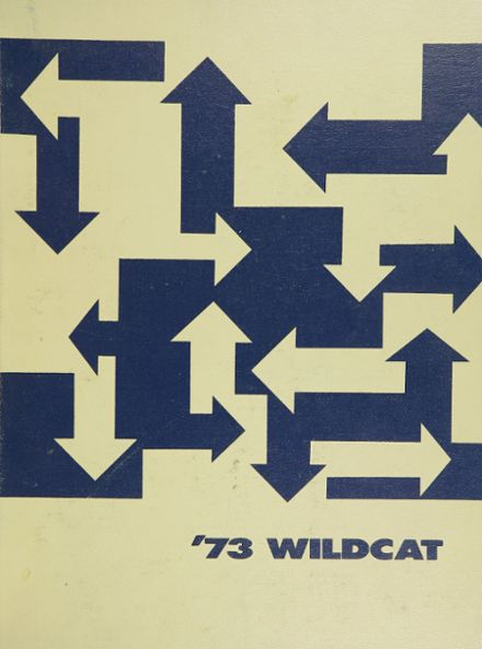 1973 Booker T. Washington High School Yearbook Cover