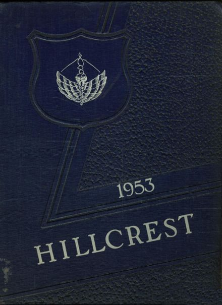 1953 Bucksport High School Yearbook Cover